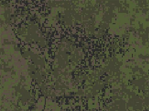 Цифровая флора (Русская цифра) - пленка для аквапринта (шир. 100см)