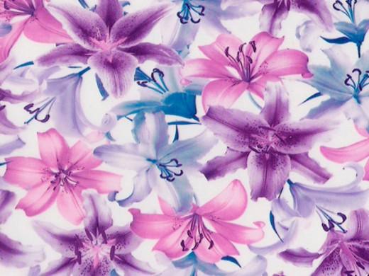 Флора №3 - пленка для аквапечати (шир. 50см)