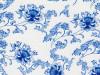 Флора №4 синяя - пленка для аквапринта (шир. 100см)