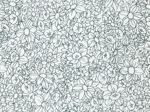 Флора №1 - пленка для аквапечати (шир. 50см)