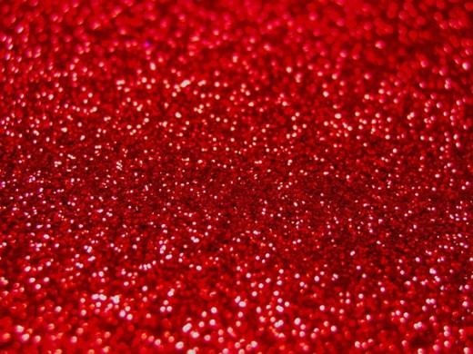 Красный рубин флейки