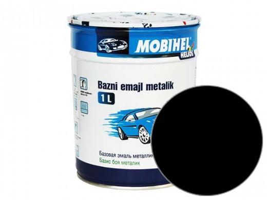 Краска 1К металлик- черная