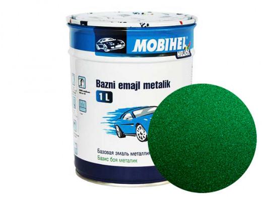 Краска 1К металлик - зеленая