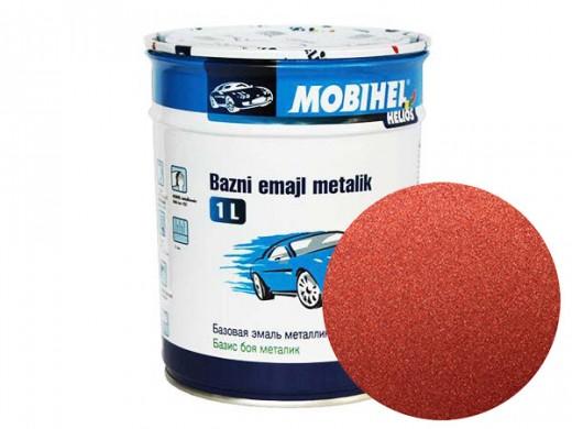 Краска 1К металлик - красно-коричневая