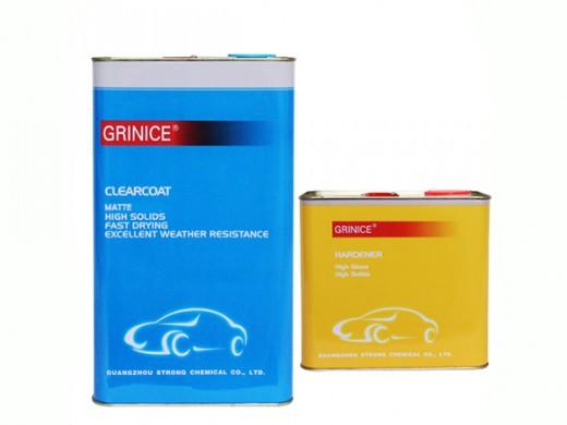 Матовый лак GRINICE 2К HS комплект 1,16 л.