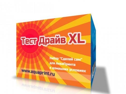 Набор для АкваПринта: Тест-драйв XL